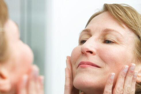Facial calcification