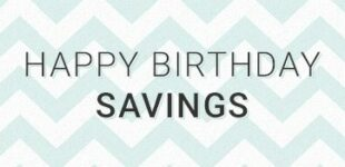Happy Birthday Savings